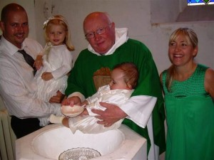 Baptism at St Twrog's